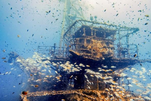 Diving Koh Kood - HTMS Chang Shipwreck -6