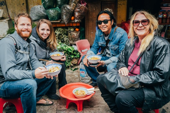 Hanoi Food Tour by Motorbike -15