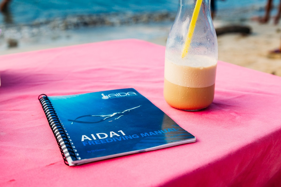 AIDA 1 Freediving course El Nido Philippines