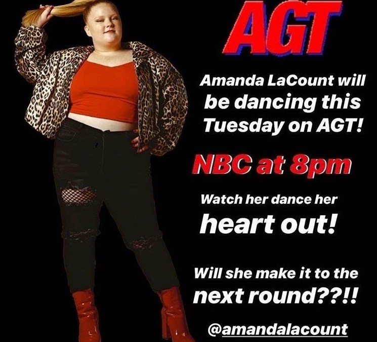 Amanda LaCount Hits Big Stage