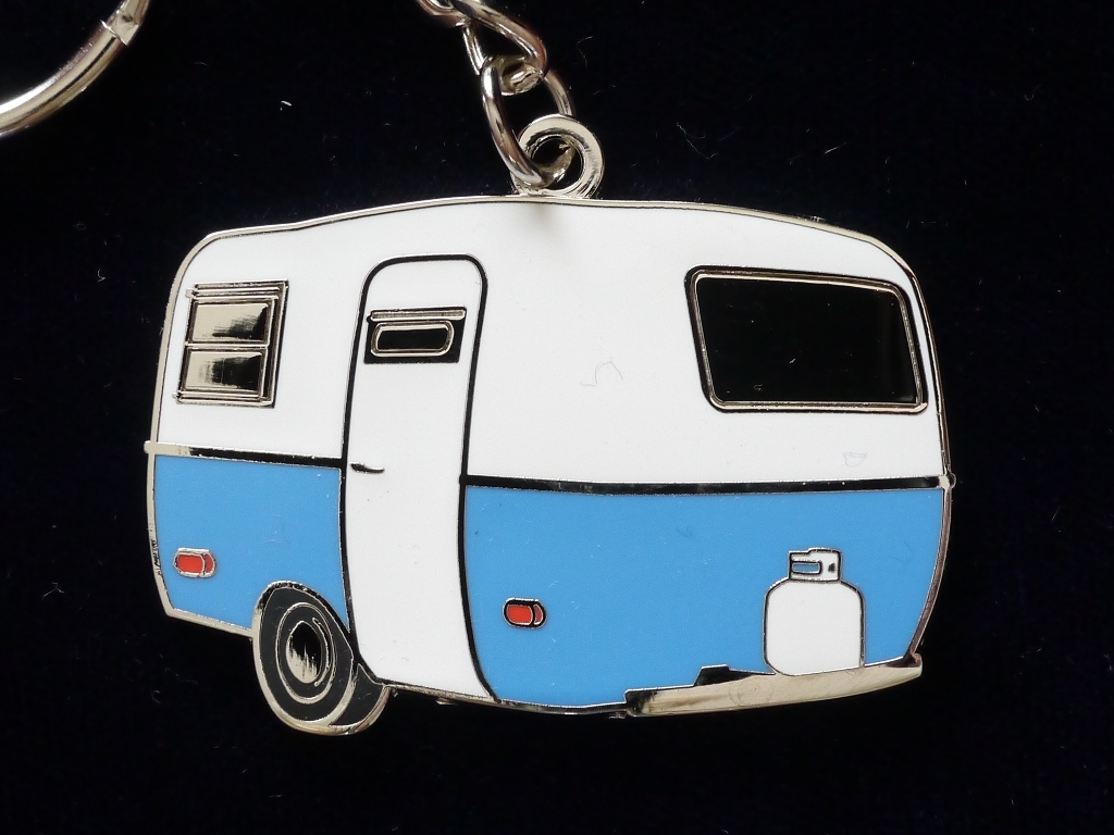 Boler Scamp Vintage Trailer Key Chain, Keychain