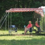 vintage trailer awning