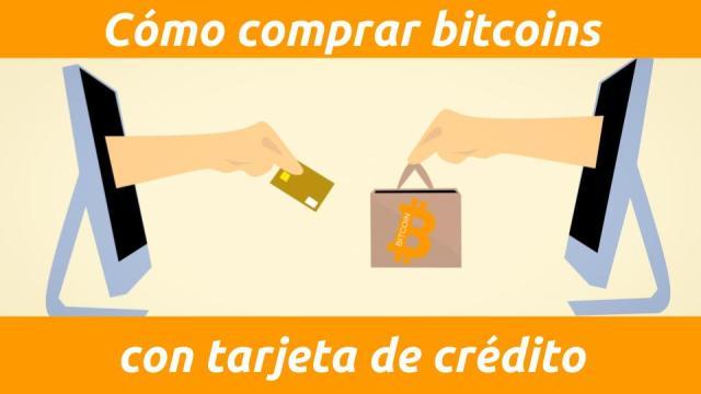Cómo comprar bitcoins con tarjeta de crédito