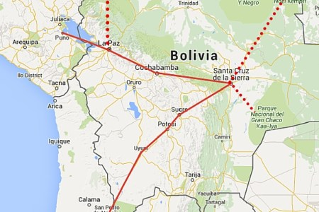 large detailed of bolivia map » ..:: Edi Maps ::.. | Full HD Maps