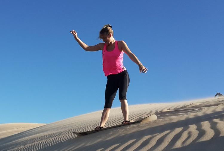 Tour de Sandboarding y Vida Silvestre Lomas De Arena en Bolivia 2