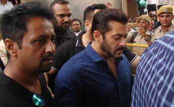 Salman khan under case hearing