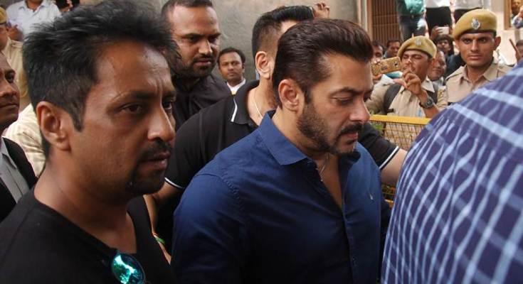 Salman khan under case hearing