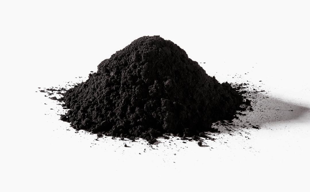 carbone vegetale attivo in polvere