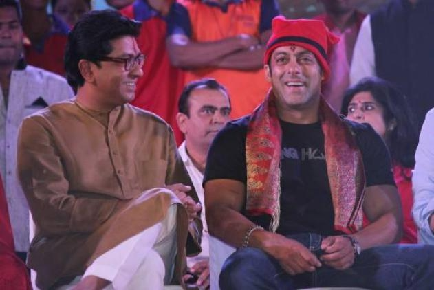 Salman Khan and Raj Thackery
