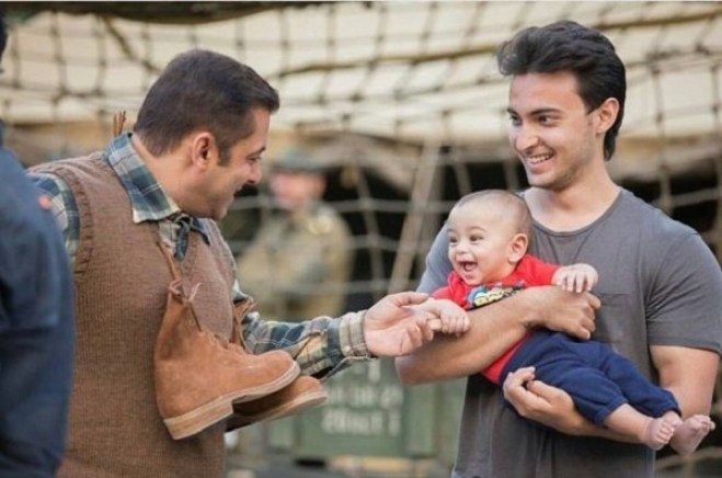Salman Khan and Ahil