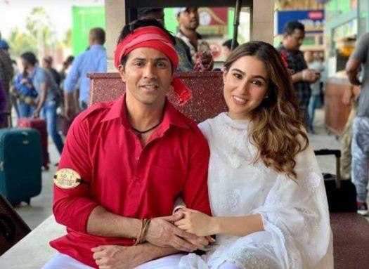 Bollywood film Coolie no 1 release wel op digitaal platform