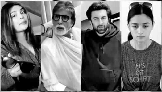 Bollywood sterren komen samen voor korte film over familie