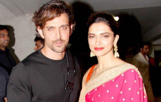Hrithik Roshan en Deepika Padukone spelen de hoofdrol in de Bollywood film Fighter