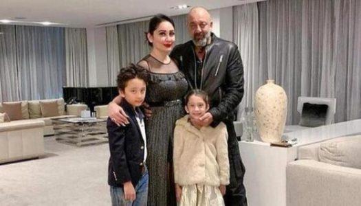 Bollywood acteur Sanjay Dutt maakt zich zorgen over vrouw en kinderen