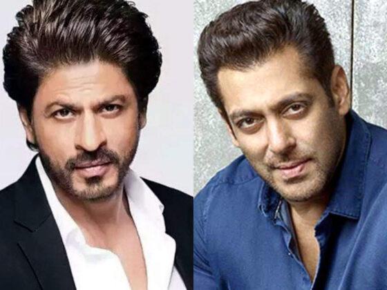 Bollywood acteurs Salman Khan en SRK in actie op de Burj Khalifa voor Pathan