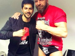 Varun-Dhawan-meets-WWE-superstars-Triple-H