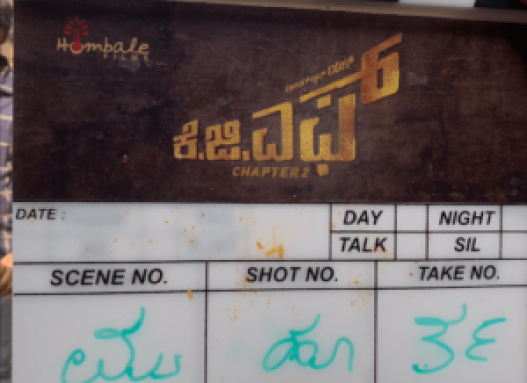 KGF-Chapter-2-Clapper-Board-Shot