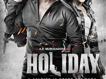 Sonakshi Sinha, Akshay Kumar, posters, Holiday - a soldier is never off duty, trailer