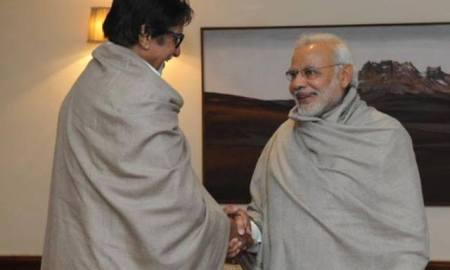 Amitabh Bachchan, Prime Minister, Narendra Modi