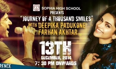 Farhan Akhtar, Deepika Padukone, Bengaluru