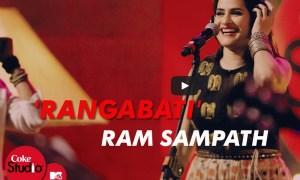 Sona Mohapatra, Rituraj Mohanty, Ram Sampath, Rangabati, video, Youtube