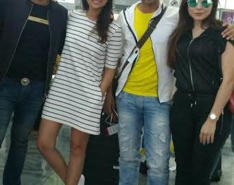 Parineeti Chopra, Kanika Kapoor, Meet Bros, airport