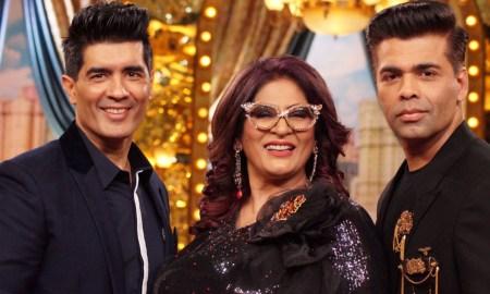 Manish Malhotra, Auntyji Archana Puran Singh, Karan Johar