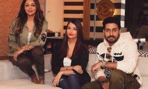 Aishwarya, Abhishek Bachchan, Gauri Khan