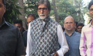 Amitabh Bachchan, spotted, Versova, Mumbai