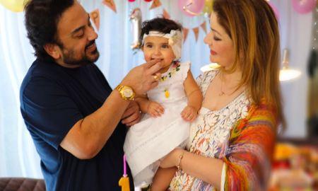 Adnan Sami, daughter, Medina, birthday