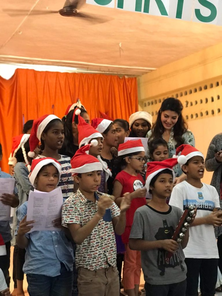 Jacqueline Fernandez, Christmas