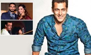 Robin Fletcher, Salman Khan, Ranveer-Deepika painting