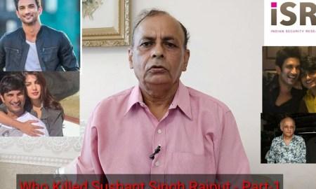 Ex-Raw Official, Sushant Singh Rajput, Dawood Ibrahim, Video, BollywoodDhamaka