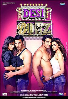 Desi Boyz Box Office Collection Day-wise India Overseas