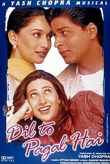 Dil To Pagal Hai Box Office Collection Day-wise India Overseas