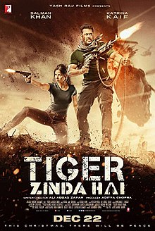 Tiger Zinda Hai Box Office Collection Day-wise India Overseas