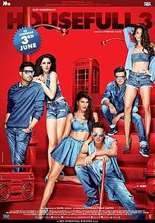 Housefull 3 Box Office collection Day-wise India Overseas