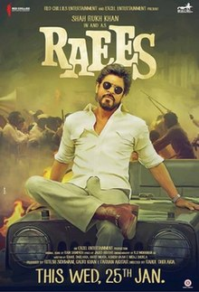 Raees Box Office Collection Day-wise India Overseas