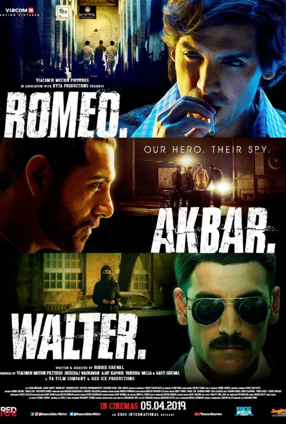 Romeo Akbar Walter (2019) Box Office Collection Day Wise