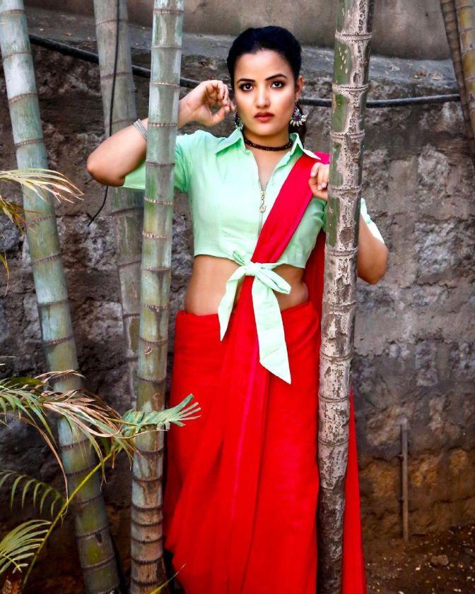 Bigg Boss 5 Telugu Siri Hanmanth 9 Hot Cute Gorgeous Pictures