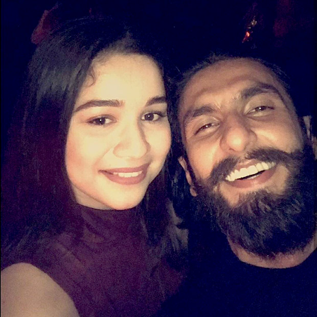 Sachin Tendulkar's daughter Sara Tendulkar's fangirl moment with Ranveer Singh