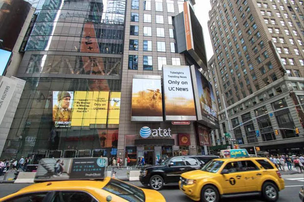 Salman Khan's Tubelight becomes the FIRST BOLLYWOOD MOVIE to be featured on Times Square NYC's hoardings -2