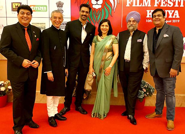 Arjun Rampal, Raju Chadha, and Rahul Mittra awarded at the first Indian Film Festival in Kenya
