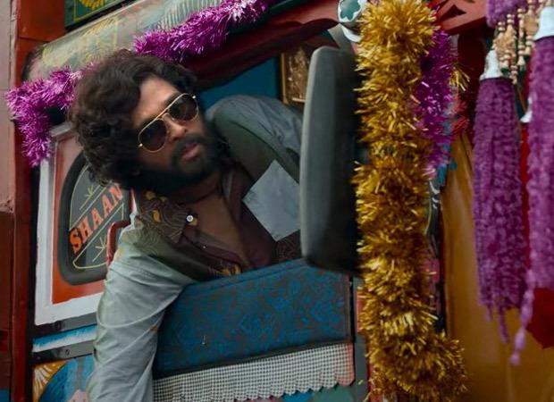 Pushpa: Allu Arjun as Pushpa Raj is ruthless, Rashmika Mandanna makes a blink and miss appearance; watch