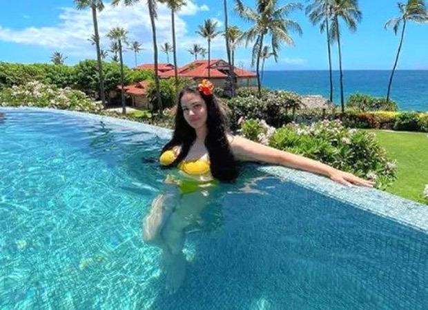 Sanjay Dutt's daughter Trishala Dutt stuns in a bright yellow bikini as she holidays in Hawaii
