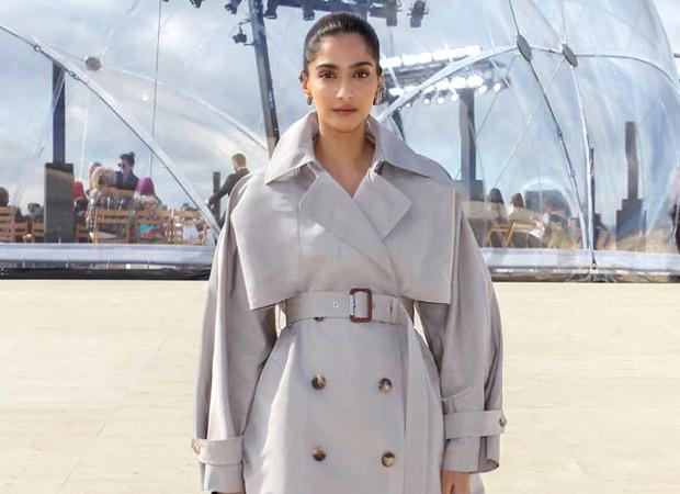 Sonam Kapoor Ahuja makes heads turn at Alexander McQueen fashion show