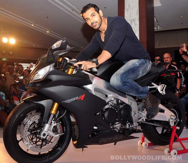 Image result for john abraham motorcycle