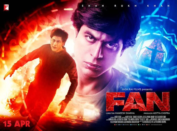 Image result for fan shahrukh poster