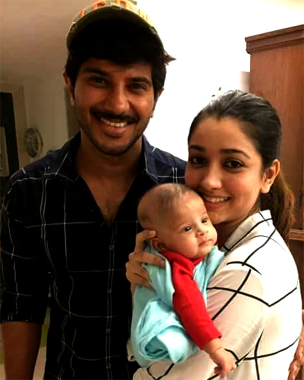 Image result for dulquer salmaan daughter
