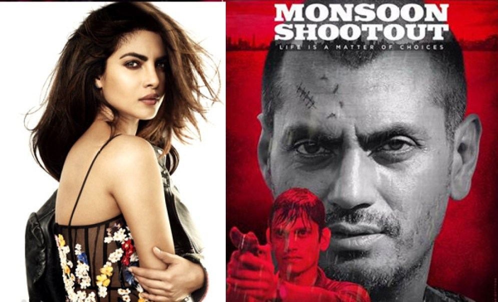 Image result for Priyanka Chopra to launch the trailer of Nawazuddin Siddiqui thriller Monsoon Shootout